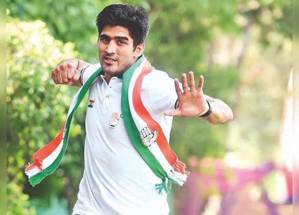 विजेंदर सिंह: दक्षिणी दिल्ली से कांग्रेस के टिकट पर हारे