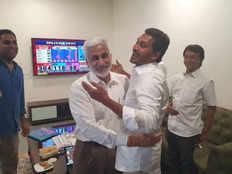 ysrcp of jagan mohan reddy defeats tdp of chandrababu naidu in loksabha and vidhan sabha chunav