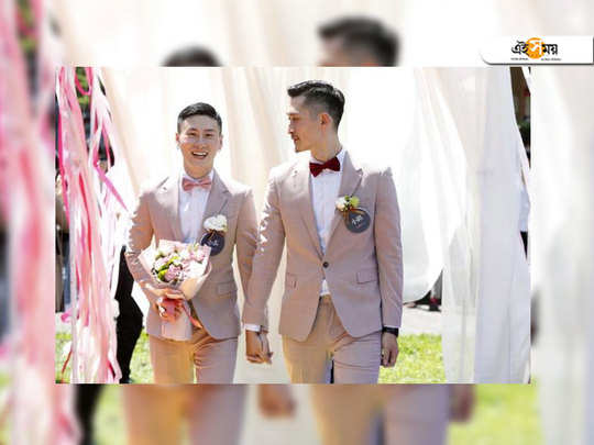 taiwan makes history with asia's first legal gay weddings