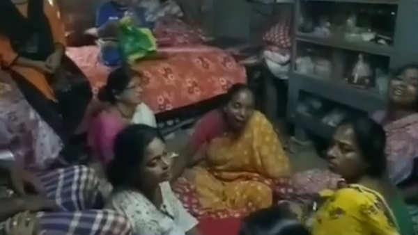 bjp worker found dead in west bengals nadia