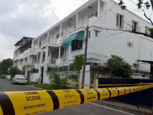 धमाकों के बाद श्रीलंका में सुरक्षा के सख्त इंतजाम