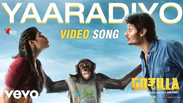 yaaradiyo video song from jiiva movie gorilla