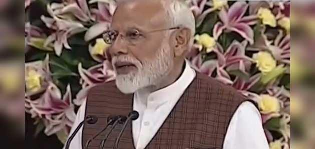 एनडीए नेता चुने जाने के बाद नरेंद्र मोदी ने किया नेताओं का किया शुक्रिया