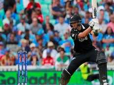 new zealand won against india by 6 wickets in world cup cricket warm up match