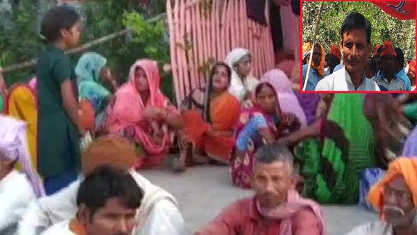 smriti iranis close aide shot dead in ups baraulia village