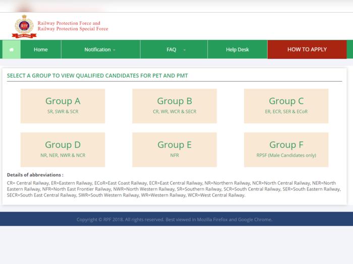 rpf result group d 2019