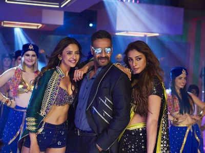 रकुल प्रीत सिंह, अजय देवगन और तब्बू
