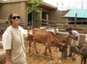 german lady honored with padmashri visa extended now she can work for cows