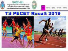 telangana state physical education common entrance test 2019 results released