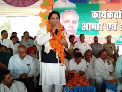 पीलीभीत के चुनाव जीतने के बाद पहुंचे वरुण गांधी