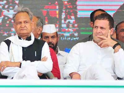 अशोक गहलोत और राहुल गांधी (फाइल)