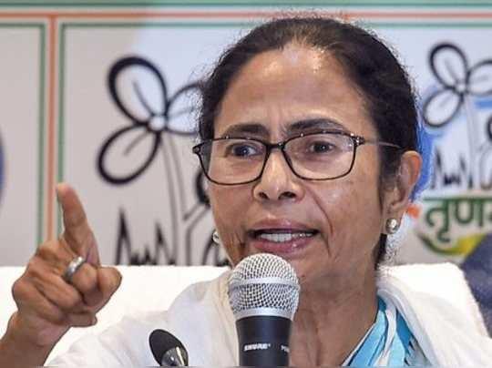 Kolkata:West Bengal Chief Minister and TMC Supremo Mamata Banerjee during intera...