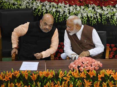 पीएम नरेंद्र मोदी और बीजेपी चीफ अमित शाह (फाइल फोटो)