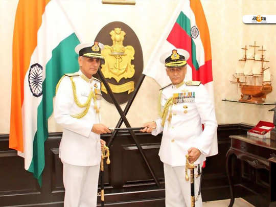 Admiral Karambir Singh takes over as the chief of the Naval staff. He replaces Admiral Sunil Lanba, who is retiring today