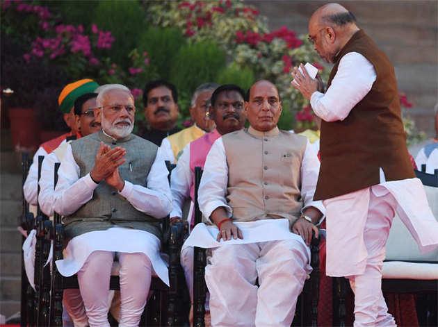 अमित शाह बने गृह मंत्री