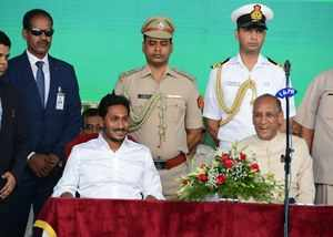 andhra cm ys jagan exercising for new cabinet ministers will take oath on june 8th
