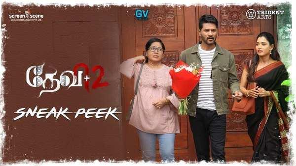 devi 2 movie starring prabhu deva and tamannaah official sneak peek video is out