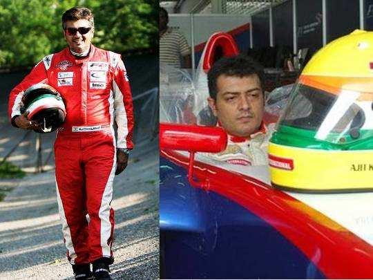 Ajith Race Career