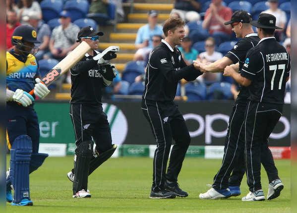 वर्ल्ड कप: न्यू जीलैंड ने लंका को रौंदा