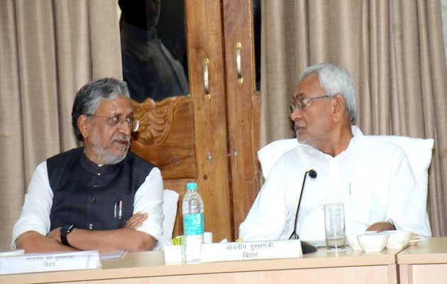 जेडीयू के नेता पदों को भरने के लिये शामिल किये गए, बीजेपी के साथ कोई विवाद नहीं: नितीश कुमार