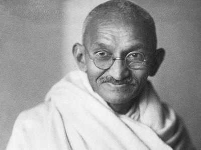 गांधी की स्मृति में लगाए गए पौधे