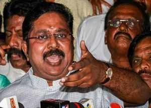 ttv dinakaran is trying to find the sleeper cells in ammk