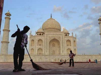 ताजमहल में तीन घंटे तक फ्री एंट्री