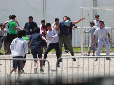 ज्यादातर प्रवासी बच्चे लातिन अमेरिकी देश के