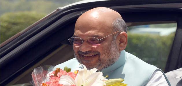 पूर्व प्रधानमंत्री अटल बिहारी वाजपेयी के आवास में रहेंगे अमित शाह
