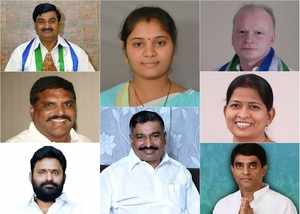 andhr pradesh cabinet 2019 ministers list with their constituencies and districts