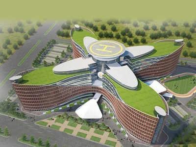 यूपी पुलिस के नए मुख्यालय का मॉडल