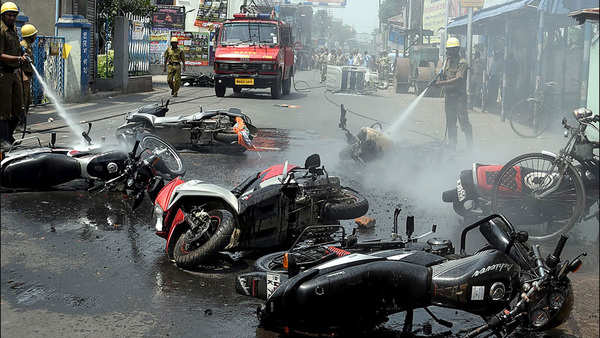 bengal violence home ministry expresses deep concern issues advisory