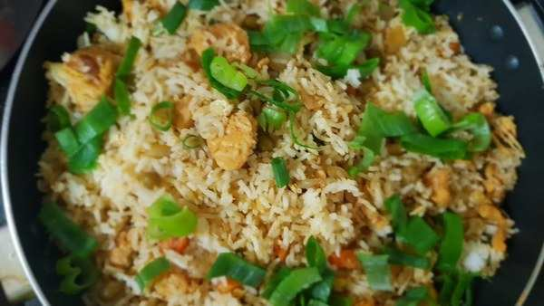 tasty chicken fried rice recipe in malayalam