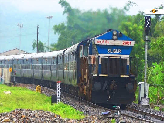 north east india railway take a deduction to increase the train speed in siliguri to alipurduar junction