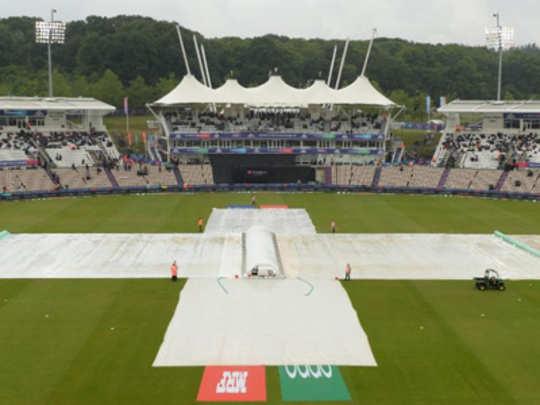 द.आफ्रिका विरुद्ध वेस्ट इंडिज सामना पावसामुळे रद्द