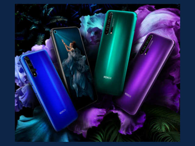 5 कैमरे वाले ऑनर 20 प्रो और ऑनर 20 स्मार्टफोन भारत में लॉन्च, जानें कीमत
