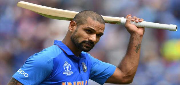 वर्ल्ड कप 2019: भारत को झटका, चोट के कारण शिखर धवन टीम से बाहर