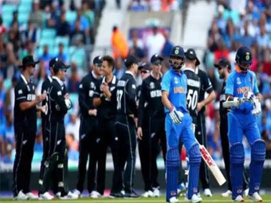 भारत-न्यूझीलंड लढतीवर पावसाचे सावट