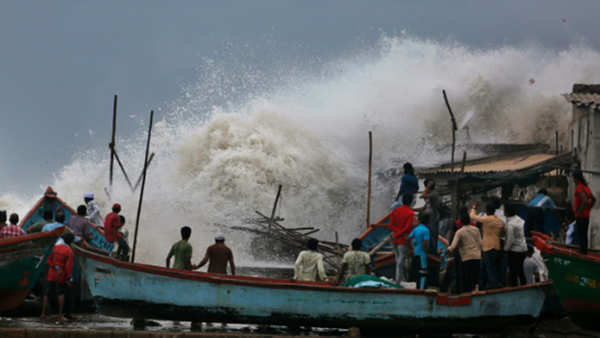 cyclone vayu changes course unlikely to make landfall in gujarat says imd