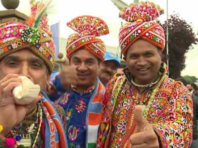 वर्ल्ड कप: भारत vs न्यू जीलैंड मैच रद्द, उत्साह में दिखे फैन्स
