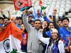 नॉटिंगम में बारिश, कम नहीं हुआ भारतीय फैंस का जोश