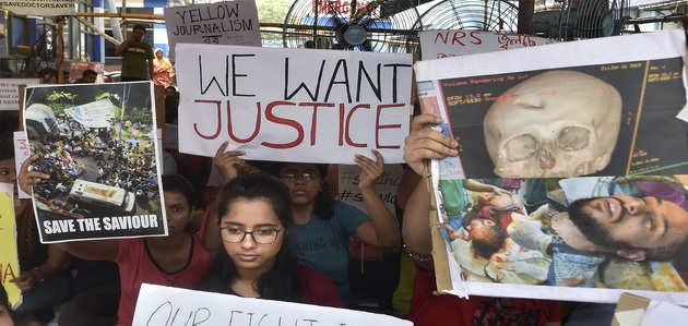 डॉक्टरों की हड़ताल, स्वास्थ्य मंत्री बोले- दोषियों को मिलनी चाहिए सजा