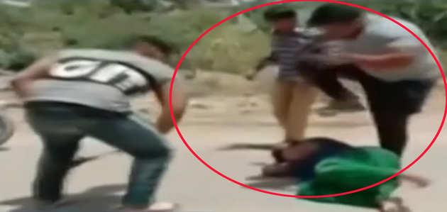 कांग्रेस नेता के भाई ने पंजाब के मुक्तसर में महिला को बेरहमी से पीटा