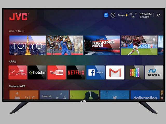 JVC ने लॉन्च किए 6 नए स्मार्ट LED TV, ₹7499 है शुरुआती कीमत