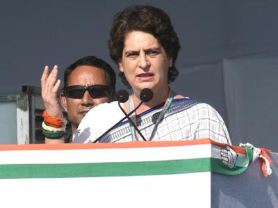 फाइल फोटो: प्रियंका गांधी