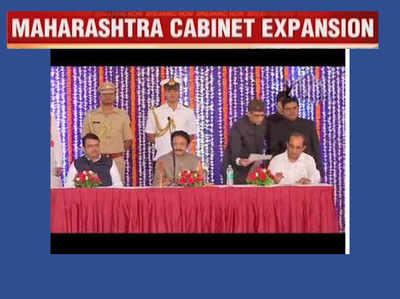 महाराष्ट्र कैबिनेट में विस्तार, 13 नए मंत्री हुए शामिल