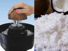coconut scraper attachment for mixy