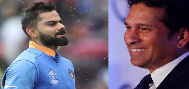 एकदिवसीय मैचों में विराट के 11,000 रन पूरे, सचिन को छोड़ा पीछे