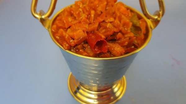 kerala style dried mango pickle recipe