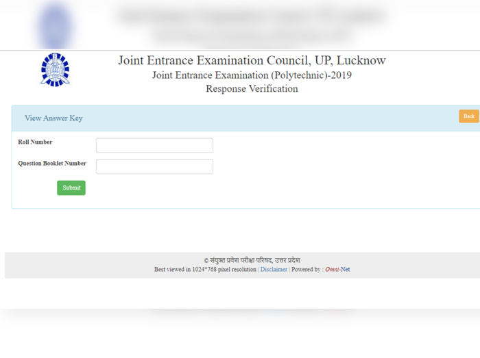 up polytechnic answer key 2019